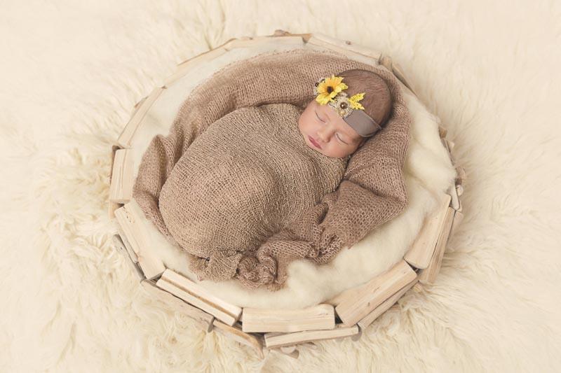 Book de fotos recién nacido en Valencia