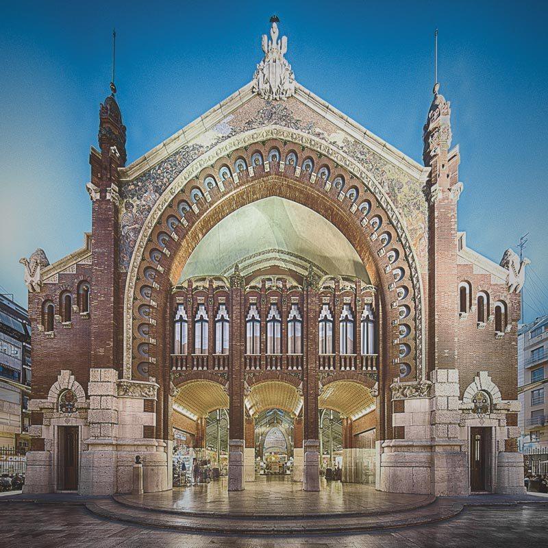 Fotografía del Mercado de Colón en Valencia