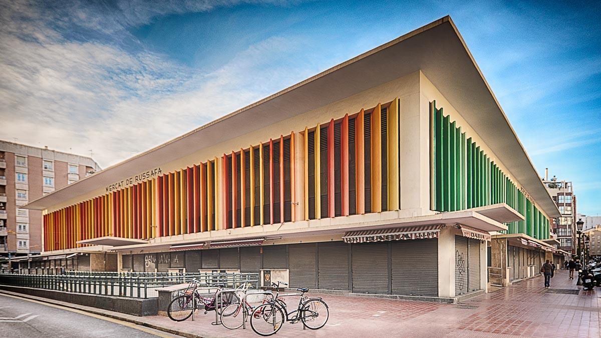 Fotografía del Mercado de Ruzafa en Valencia
