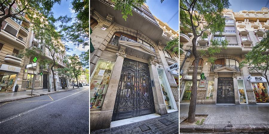 Fotografia de la fachada de Maribel Server, fotógrafa en Valencia