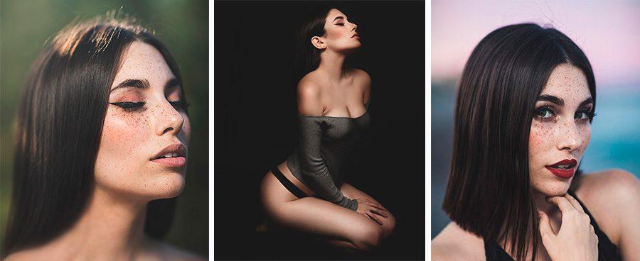 Sesiones de fotos para modelos en estudio y exterior